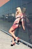 atrakcyjna modna dziewczyna Obrazy Royalty Free