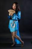 Atrakcyjna orientalna dziewczyna Obraz Royalty Free