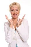 atrakcyjna piękna biała kobieta Fotografia Royalty Free