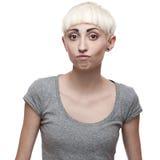 Atrakcyjna przypadkowa młoda kobieta Zdjęcia Royalty Free