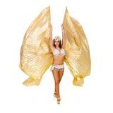 atrakcyjna smokingowa egzotyczna target605_0_ kobieta Obrazy Royalty Free