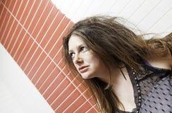 atrakcyjna smutna kobieta Fotografia Stock
