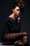atrakcyjna target2315_0_ kobieta Fotografia Royalty Free