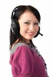 atrakcyjna uśmiechnięta kobieta Zdjęcia Stock