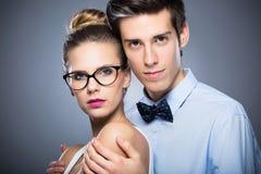 atrakcyjne par młodych Zdjęcia Stock