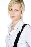 atrakcyjnej blondynki biznesowa kobieta Obraz Royalty Free