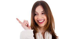 atrakcyjnej kobiety wzorcowy ja target1694_0_ Obrazy Royalty Free