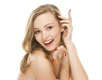 atrakcyjnej piękna dziewczyny naturalny portret plciowy Obrazy Stock