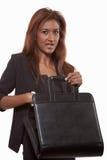 atrakcyjni brunetki bizneswomanu hindusa lata dwudzieste Fotografia Stock