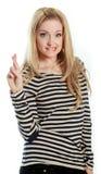 atrakcyjni caucasian blondyny w 30 lat Obrazy Stock