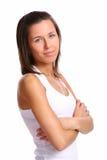 atrakcyjni piękni grapefru kobiety potomstwa obraz stock