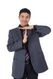 atrakcyjny biznesmen Nepalese atrakcyjny synchronizować zdjęcie royalty free