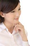 atrakcyjny bizneswoman Fotografia Stock