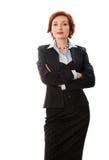 atrakcyjny bizneswoman Fotografia Royalty Free