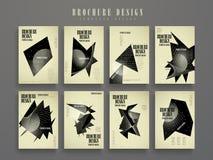 Atrakcyjny broszurka szablon ilustracja wektor