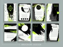 Atrakcyjny broszurka szablon ilustracji