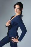 Atrakcyjny brunetka model Obrazy Royalty Free