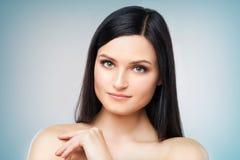 Atrakcyjny dziewczyny headshot Fotografia Stock