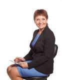 Atrakcyjny kobiety 50 lat zdjęcia stock