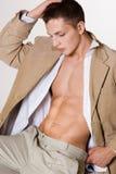 atrakcyjny mężczyzna Fotografia Royalty Free