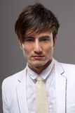 Atrakcyjny młody Azjatycki facet fotografia stock