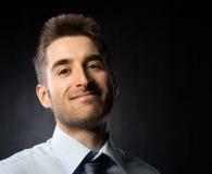 Atrakcyjny młody biznesmen obrazy stock