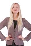 Atrakcyjny młody bizneswoman Fotografia Royalty Free