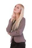Atrakcyjny młody bizneswoman Obrazy Royalty Free