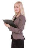 Atrakcyjny młody bizneswoman Zdjęcia Stock