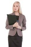 Atrakcyjny młody bizneswoman Obraz Stock