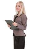 Atrakcyjny młody bizneswoman Obrazy Stock