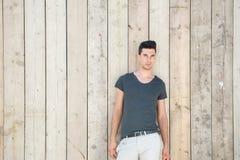 Atrakcyjny męski moda model Zdjęcia Stock