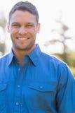 Atrakcyjny mężczyzna z krótkim włosy Fotografia Royalty Free