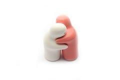 Atrakcyjny pary przytulenie Zdjęcia Stock