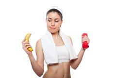Atrakcyjny sprawności fizycznej dziewczyny workingout Zdjęcie Stock