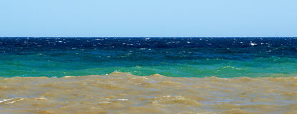 Atrament burza na Czarnym morzu Fotografia Stock