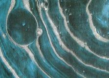 Atrament marmurowa tekstura Ebru handmade falowy tło Kraft papieru powierzchnia Unikalna sztuki ilustracja Ciekła marmoryzaci tek Zdjęcia Royalty Free