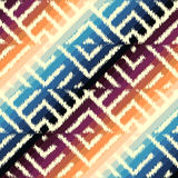 Atrament tkaniny wzór Zdjęcia Stock