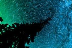 Atramentu kleksa wszechświat obraz royalty free