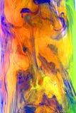 Ciekli atramenty Abstrakcjonistyczni ilustracji