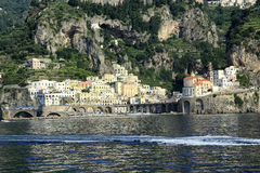 Atrani Fotos de Stock Royalty Free