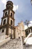 Atrani - Amalfi Coast. Atrani church of Santa Maria Maddalena royalty free stock images