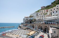 Atrani, Amalfi Coast, Italy Royalty Free Stock Photography