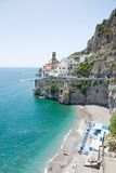 Atrani, Amalfi Coast, Italy Royalty Free Stock Photo