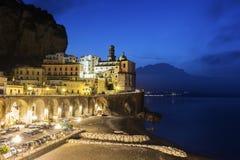 Atrani on Amalfi Coast in Italy Royalty Free Stock Photo