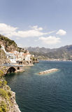 Atrani - Amalfi-Küste lizenzfreie stockbilder