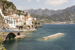 Atrani - Amalfi-Küste Lizenzfreies Stockbild