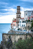 Atrani, Amalfi Kust, Italië Stock Afbeeldingen