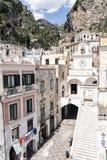 Atrani - costa di Amalfi Fotografie Stock