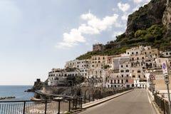Atrani - costa di Amalfi Immagini Stock